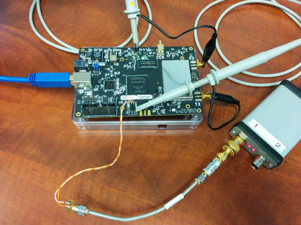 GPSDO test setup